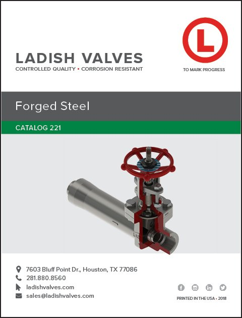 Ladish Valves – Controlled Quality Corrosion Resistant